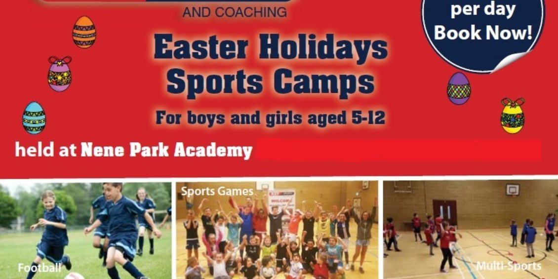 Easter Holiday Camps at Nene Park Academy