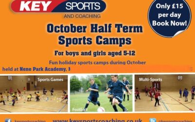 Key Sports October Half Term Holiday Sports Camps 2021